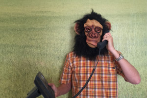 Order a Monkey Phone Call Today. Operators are standing by.